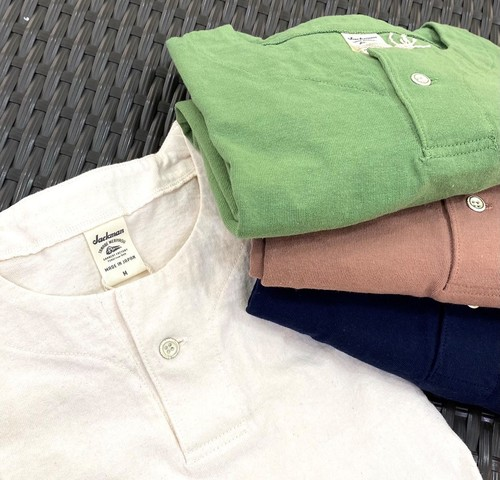 Jackman Henry neck T-Shirt ¥6,050